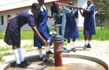 Die Zimbabwe Busch Pumpe