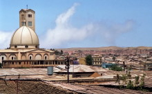 Blick auf Asmara, August 1994