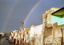 Asmara im Regen