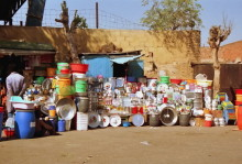 Straßenmarkt in Asmara