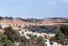 Neubauviertel in Asmara