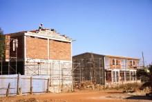 Neue Stadthäuser in Asmara
