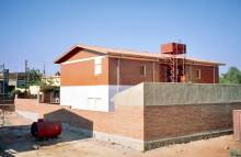 Neue Häuser in Asmara
