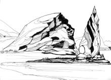 Der Pinnacle Rock auf Bartholomé, 9.10.