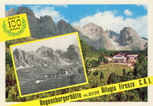 Postkarte zum 100-jährigen Jubiläum, 1988