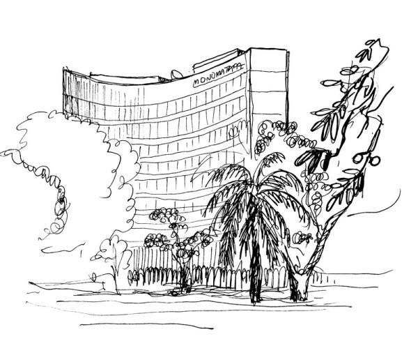 Monomatapa Hotel in Harare