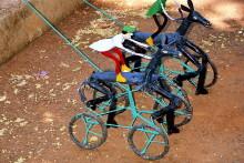 Traber aus Draht - Kinderspielzeug