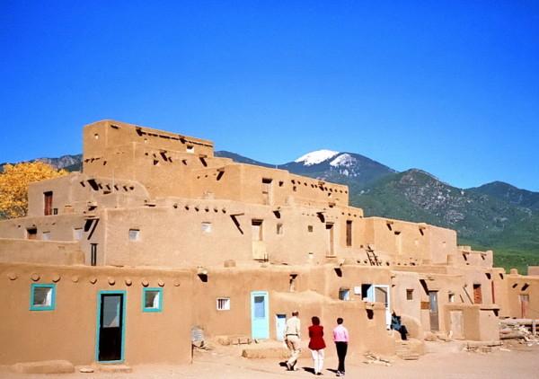 Taos Pueblo, der Südteil