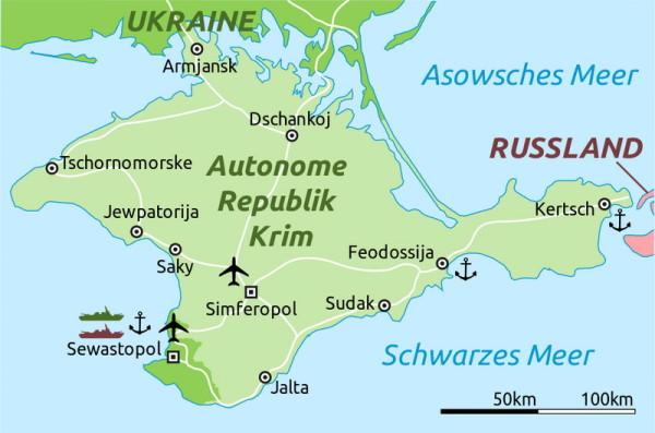Die Krim, 2014 (Foto von Wikipedia)