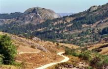 Fahrt nach Chitepo, August 1985