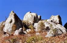 Steinruinen im Felsen, Juliasdale