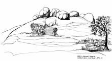 Matopos Berge, Grab von Cecil Rhodes, 22.4.1992