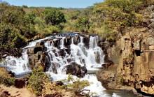 Der Inyangombi Wasserfall, 11.8.1985