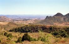 Blick auf die Inyanga Landschaft