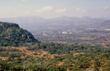 Blick auf Mutare, 12.8.1985