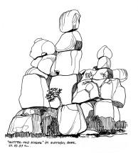 Mutter und Kind Felsen, Matopos, 1.9.1999