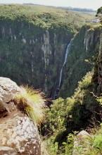 Der Mtarazi Wasserfall, 19.7.1990