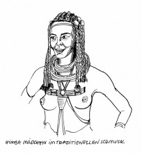 Himba Mädchen, 4.3.
