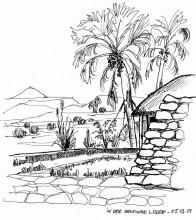Palmwag Lodge, 5.3.