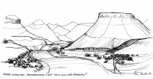 Auf und ab Straße nach Twyfelfontein, 6.3.