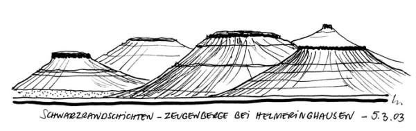 Zeugenberge bei Helmeringhausen, 5.3.