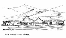 Die Kulala Desert Lodge