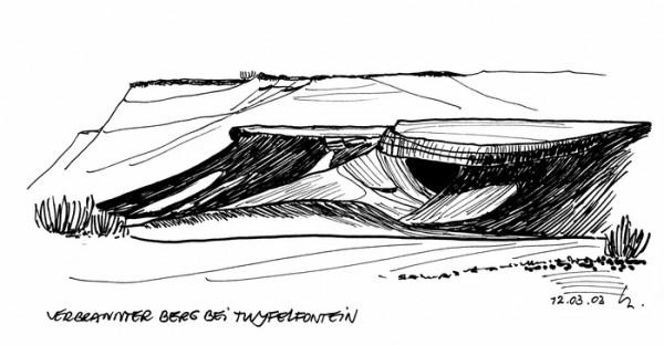 Der verbrannte Berg, 12.3.