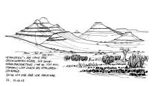 Typisches Damaraland auf dem Weg nach Palmwag, 13.3.