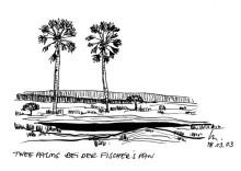 Fishers Pan im Etoscha Park, 18.3.