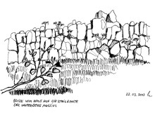 Ausblick von der Waterberg Wilderness Lodge, 22.3.