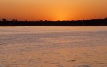 Sunset Cruize auf dem Zambesi