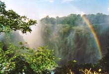 Namittäglicher Regenbogen