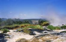Zambesi Fall Kante in Zambia