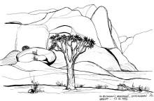 Bushman Paradise bei der Spitzkoppe, 17.6.1992