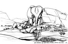 Der Elefant auf Ameib, 18.6.1992