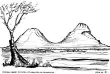 Die Omatako Berge, 24.6.1992
