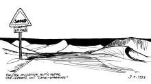Auf der Pad nach Lüderitz, 9.4.1993