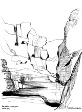 Im Sesriem Canyon, 12.4.1993