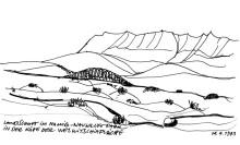 Zur Welwitschia Hochfläche, 14.4.1993