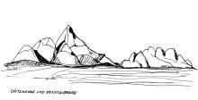 Die Spitzkoppe mit den Pontok Bergen