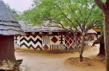 Im afrikanischen Dorf