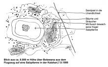 Über der Kalahari, 7.9.1999