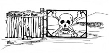 Das alte Tor zum Skelettküsten Park, 15.9.1999