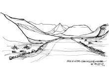 Sandpiste hinter Springbokwater im Damaraland, 16.9.1999
