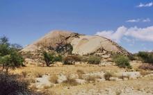 Auf dem Weg nach Wüstenquell im März 2001