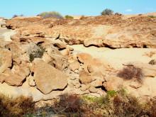 Graniterosion oberhalb von Rietfontein, 16.11.03