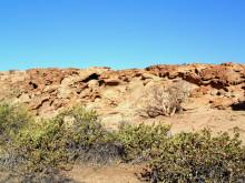 Oberhalb von Rietfontein auf Wüstenquell, 16.11.03