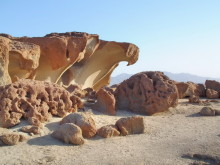 Der Adlerfelsen auf Wüstenquell, 16.11.03