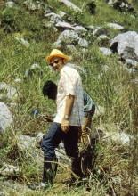 Mit Helmut in den Shai Hills. 2.7.1974