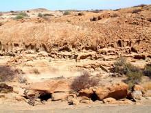 Durchlöcherte Felsen